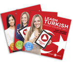 Learn Turkish  - Complete Audio-Course [No. 1, 2 3] - Easy Reader | Easy Listener