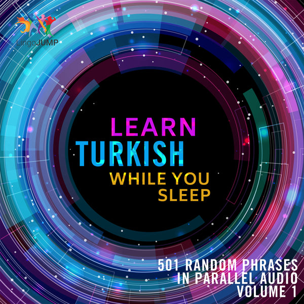 Learn Turkish while you sleep - Volume 1