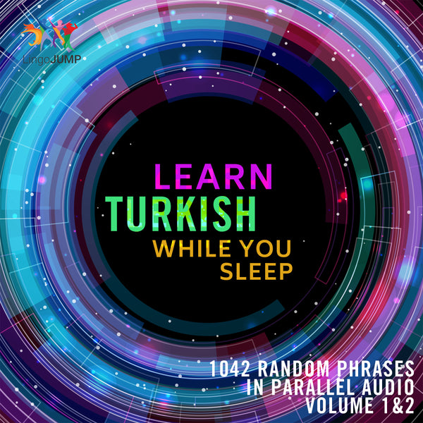 Learn Turkish while you sleep - Volume 1&2