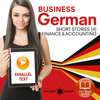 Business German Audiobook - Parallel Text - Finance & Accounting [Audiobook + eBook] Part 4