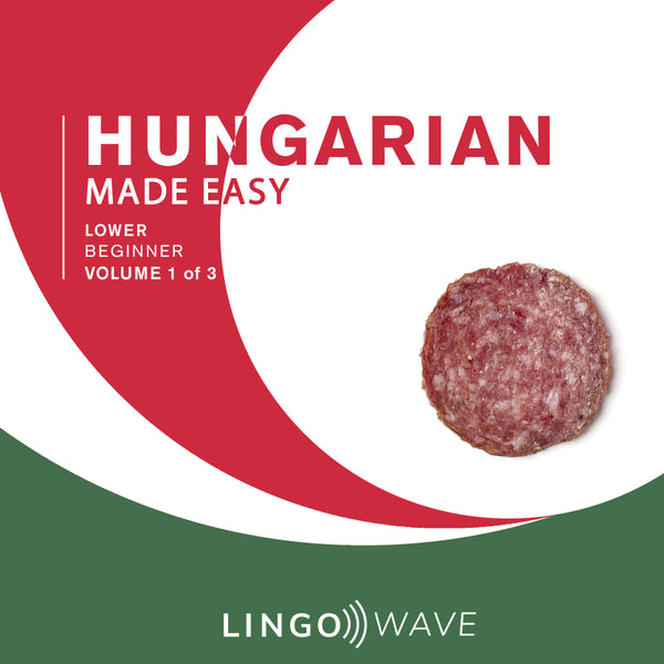 Hungarian Made Easy - Lower beginner - Volume 1-3