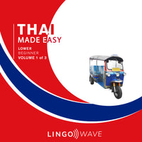 Thai Made Easy - Lower beginner - Volume 1-3