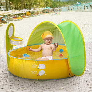 Baby Beach Pop Up Play Tent