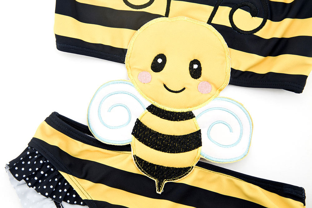 Lady Bug & Bumble Bee Bathers