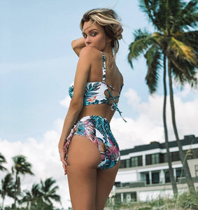 2019 High Waist Push Up Bikini