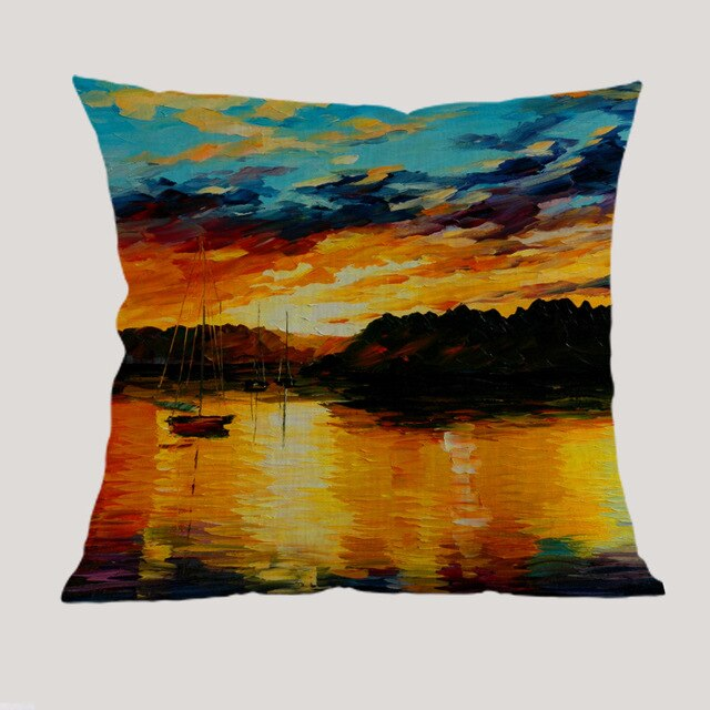 Sunset Cushion Covers
