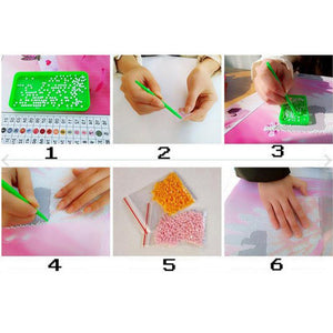 Diamond Craft Embroidered DIY Painting