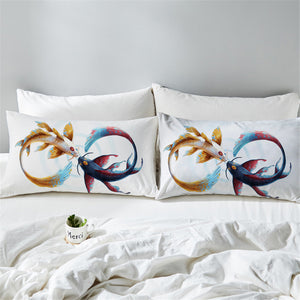 Eternal Bond by JoJoesArt Pillowcases