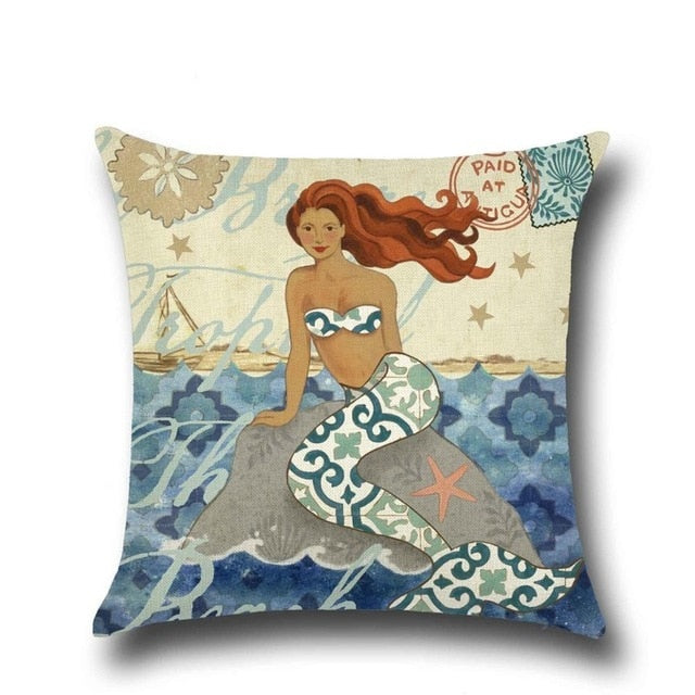Ocean Theme Cushion Covers
