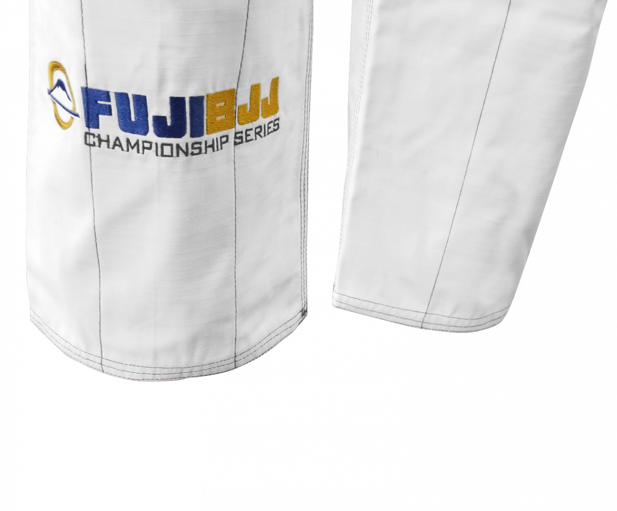FUJI BJJ Tournament Series Gi White