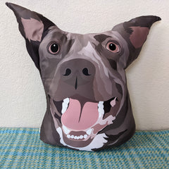 Shaped pillow of your pet