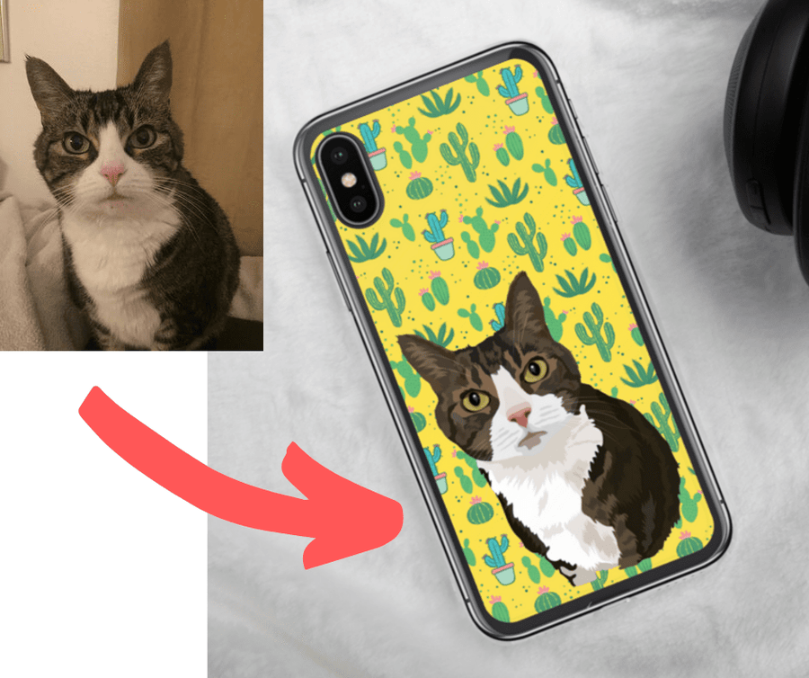 Cat Photo Cell Phone Case