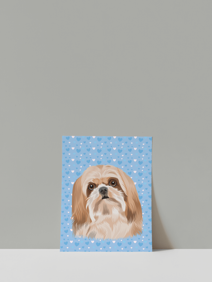 Print your pet as a custom poster