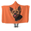 Custom Hooded Fleece Blanket of Your Pet