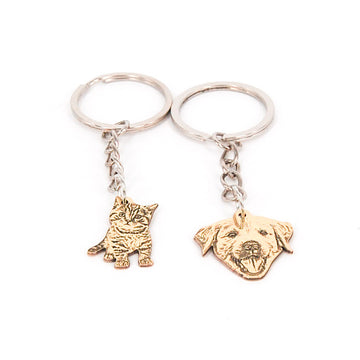 Custom keychain of your pet