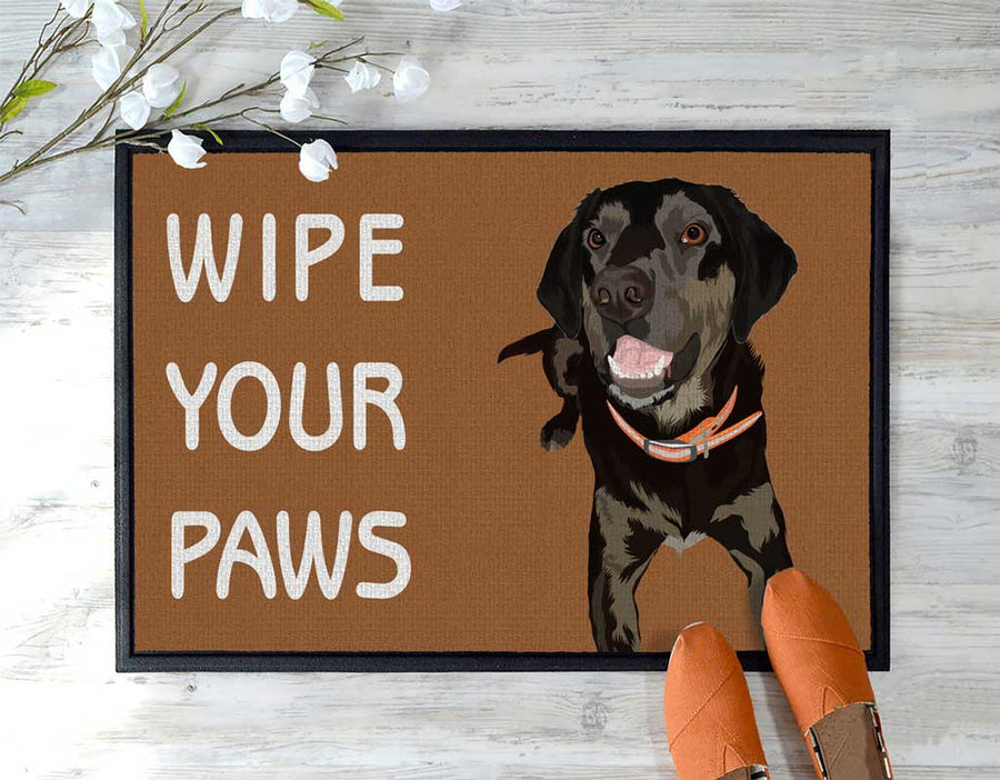 Pet door mat - wipe your paws