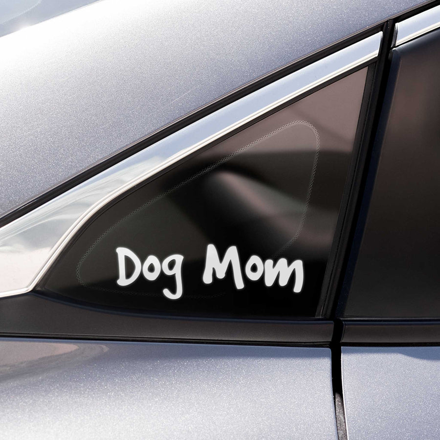 Dog Mom Decal - Pet Text