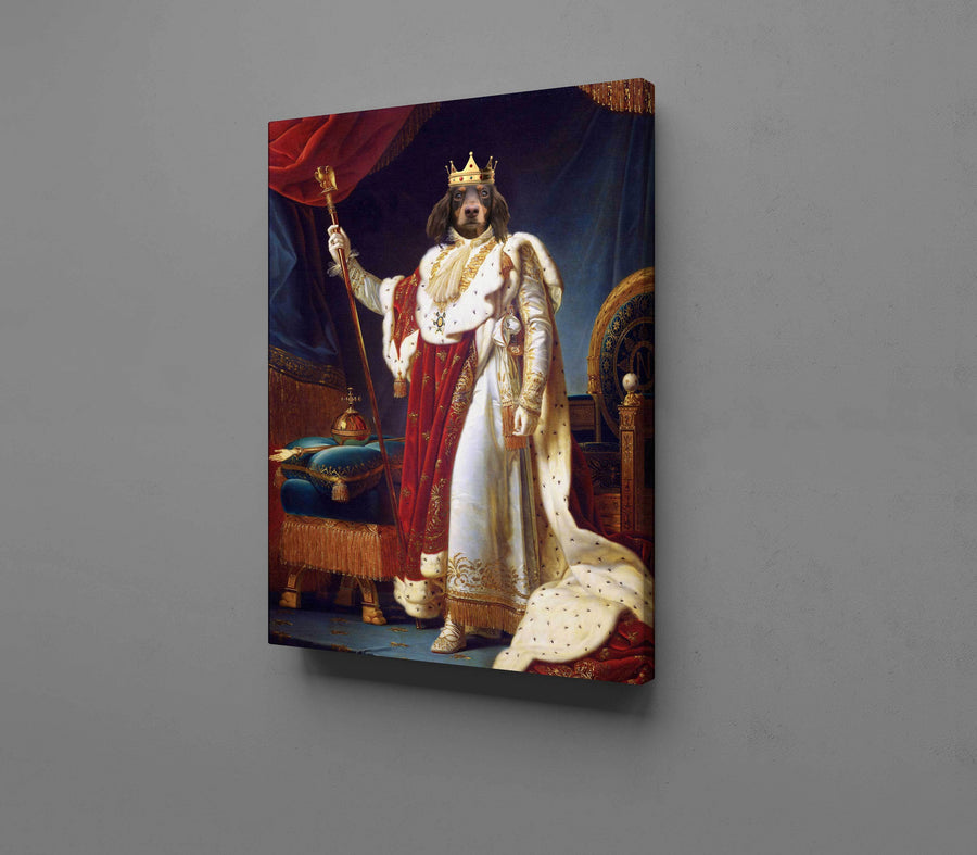 Royal King - Custom Pet Canvas