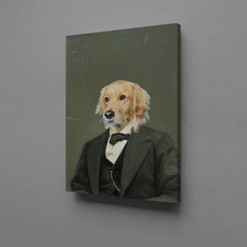 Abe Lincoln - Custom Pet Canvas