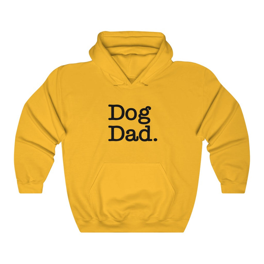 Dog Dad Hoodie - Typewriter Text