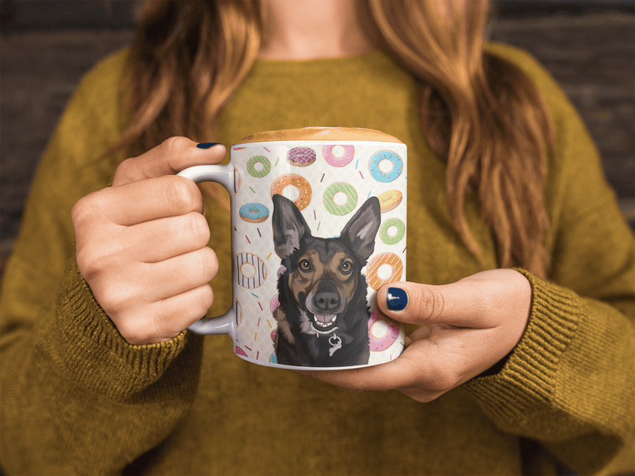 Custom mugs with your pet