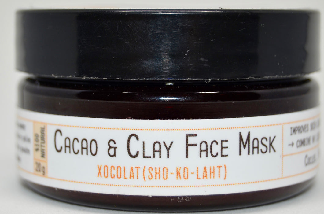 Cacao & Clay Face Mask