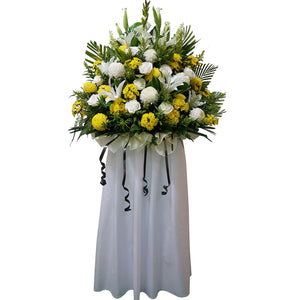 Condolence Floral Stand 01