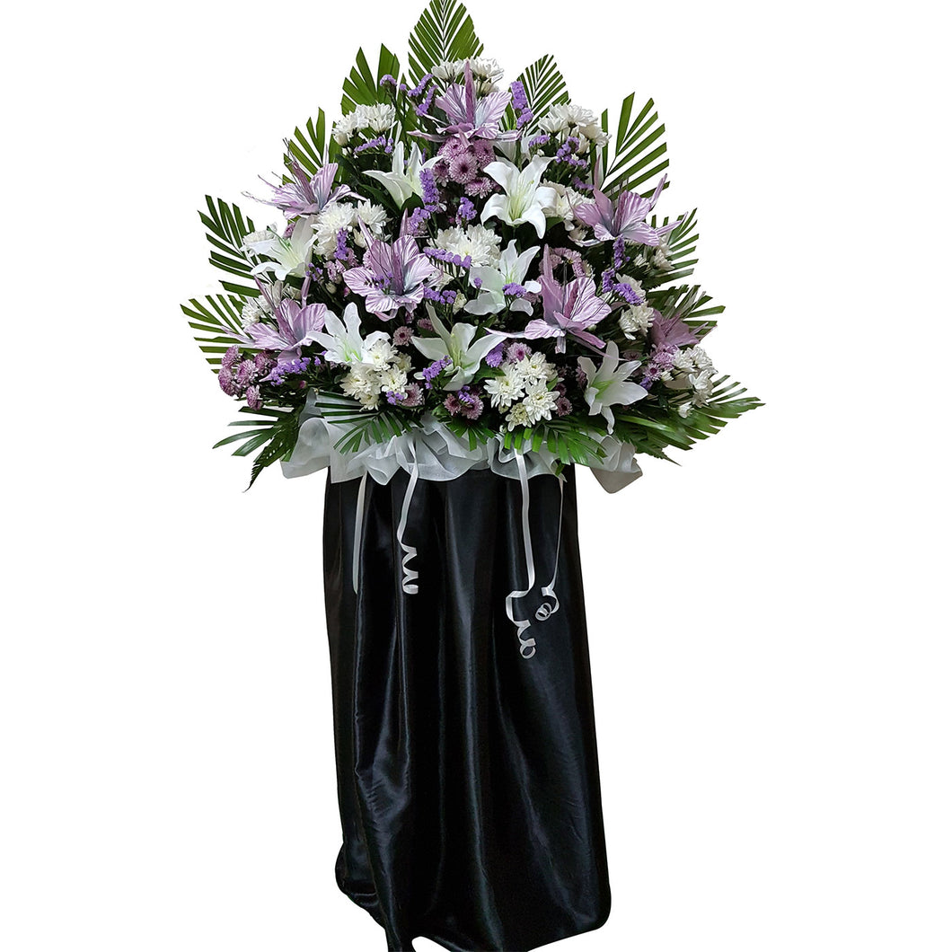 Condolence Floral Stand 03