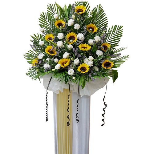Condolence Floral Stand 04
