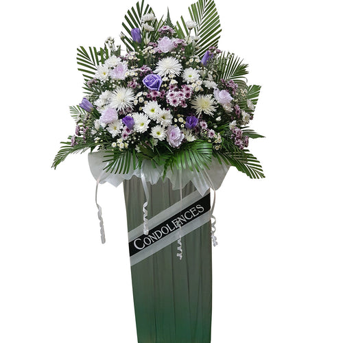 Condolence Floral Stand 07