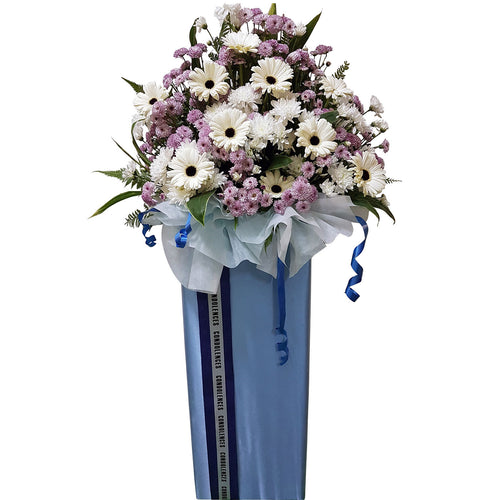 Condolence Floral Stand 08