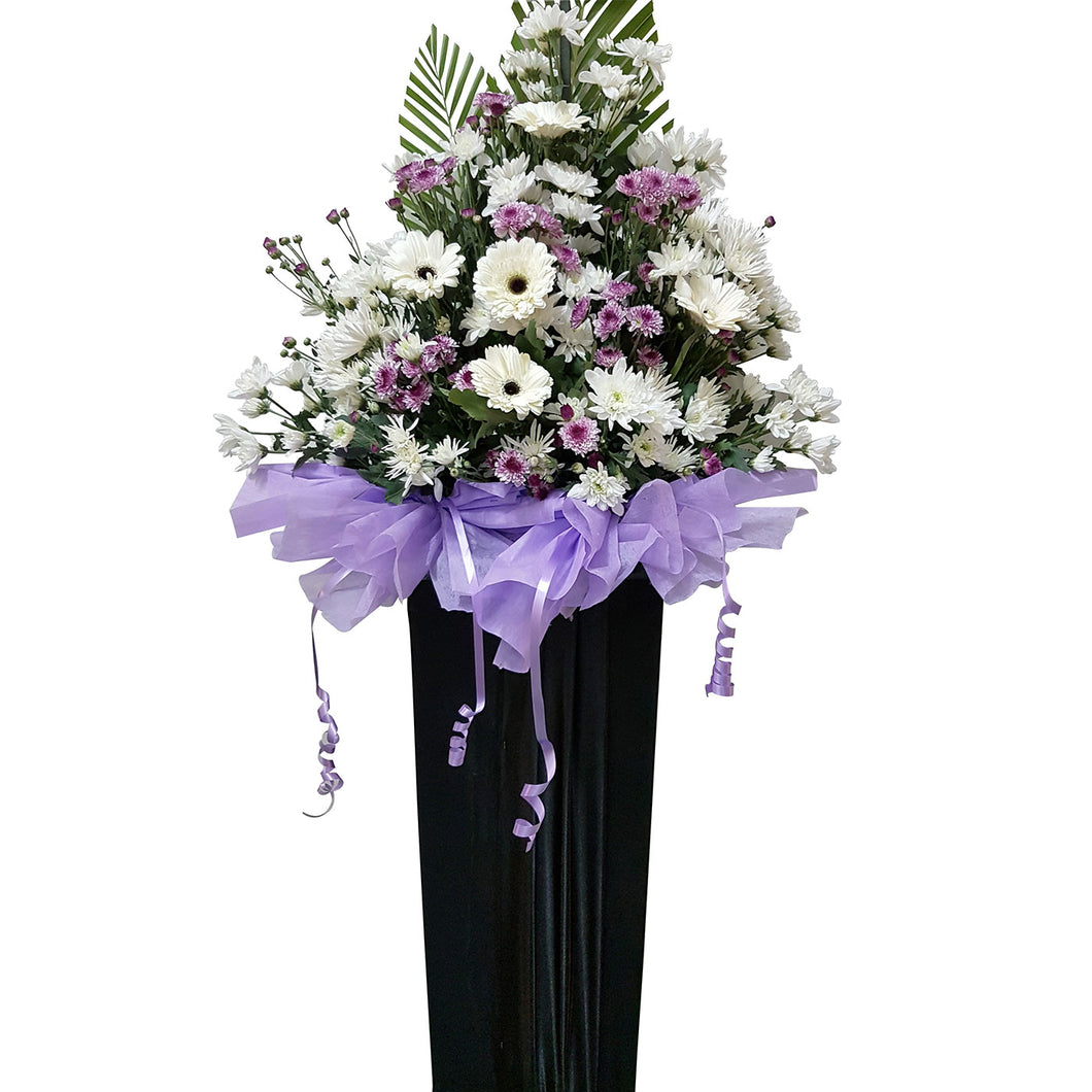 Condolence Floral Stand 09