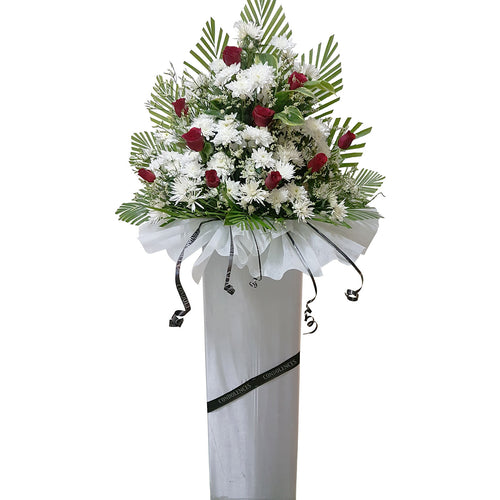 Condolence Floral Stand 12