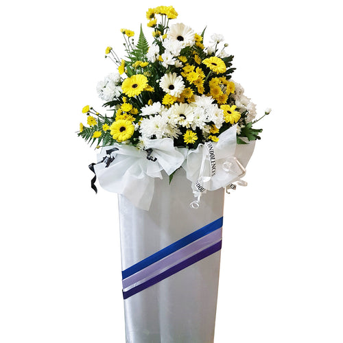 Condolence Floral Stand 13