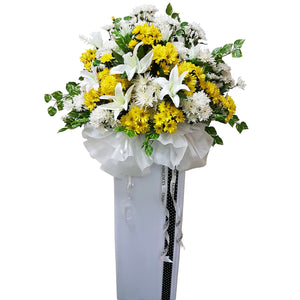 Condolence Floral Stand 14