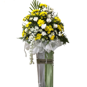 Condolence Floral Stand 16