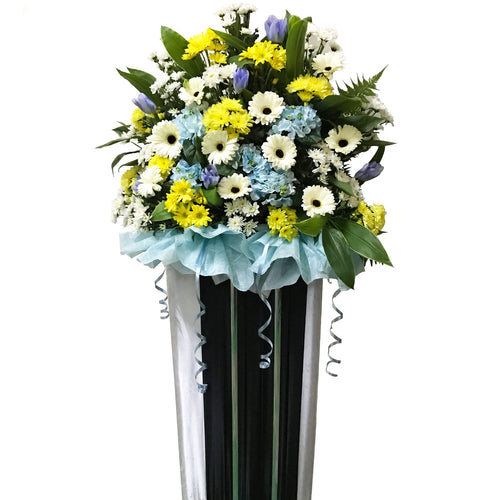 Condolence Floral Stand 17