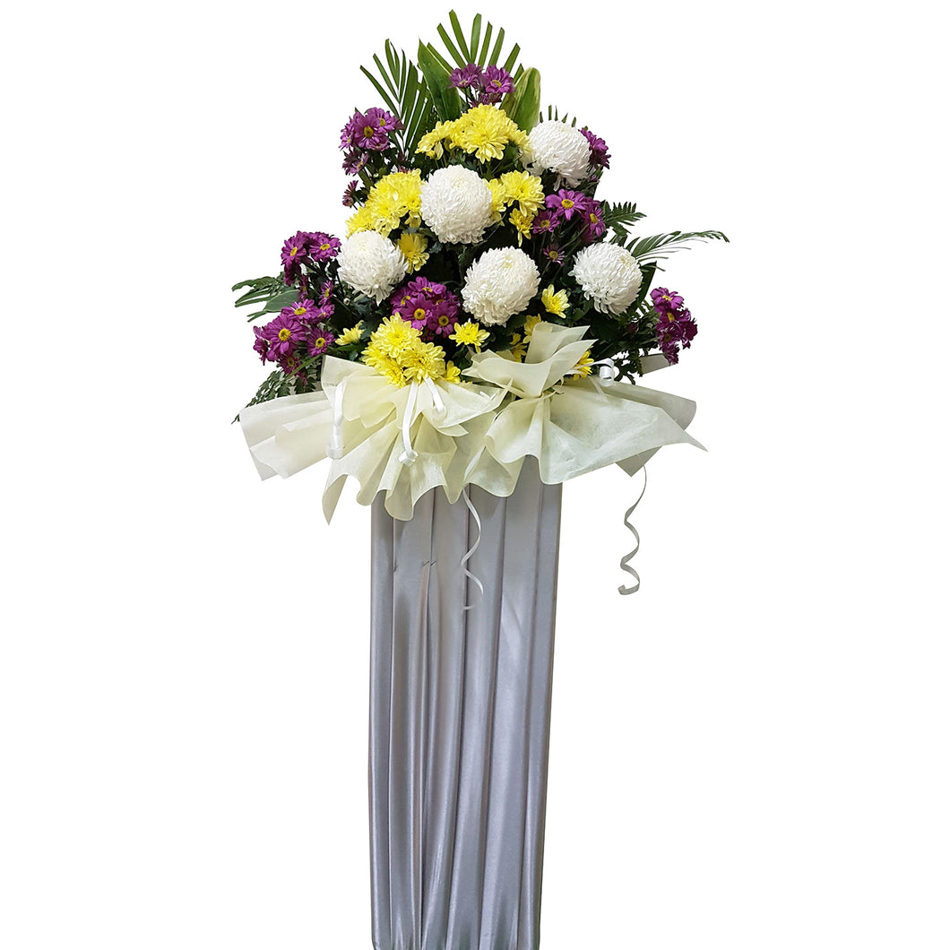 Condolence Floral Stand 18