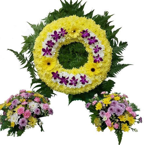 Condolence Floral Stand 22