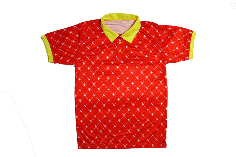 FM Monogram Polo-Top