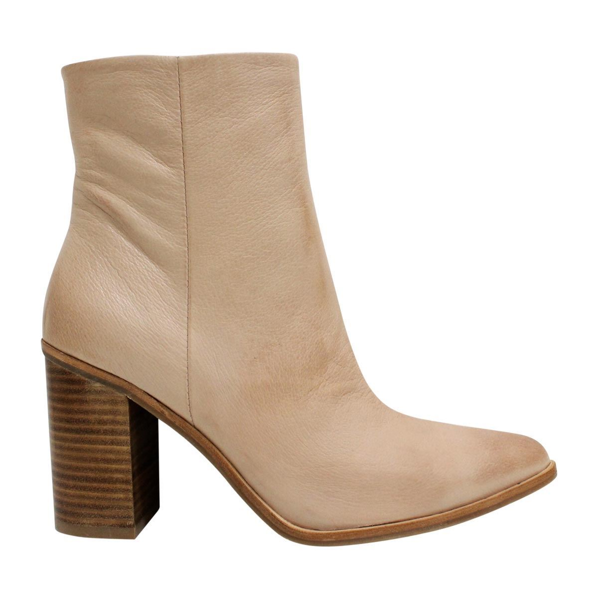 Mollini Beeps - Dark Nude Leather
