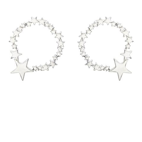 Kitte- Ziggy Earrings- Silver