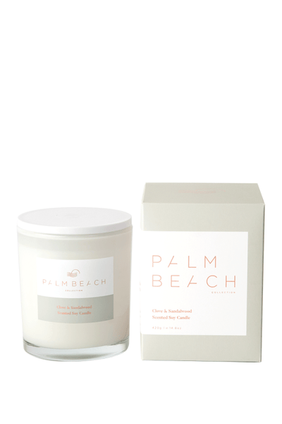 Palm Beach Standard Candle - Clove & Sandalwood