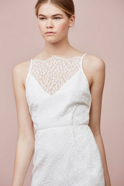 Keepsake Daydream Lace Dress Ivory