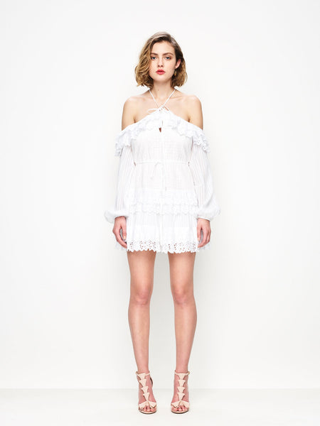 Alice McCall Lover Of Mine Dress - Porcelain