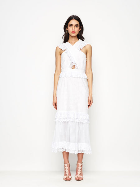 Alice McCall Everything She Wants Dress - Porcelain