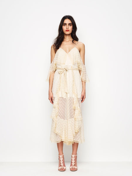 Alice McCall What You Waiting For Jumpsuit Creme