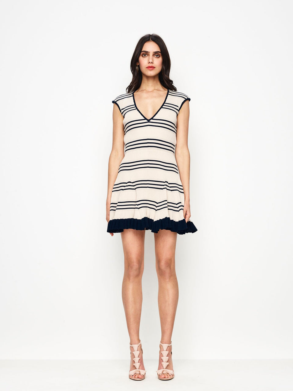 Alice McCall Frenchie Dress - Nude & Ink