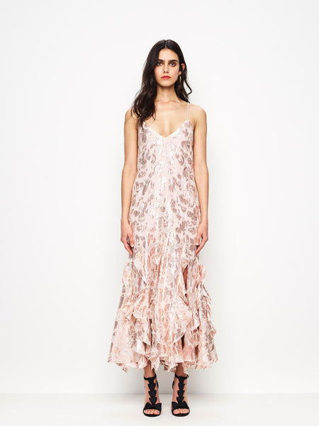 Alice McCall Best Of You Dress - Champagne