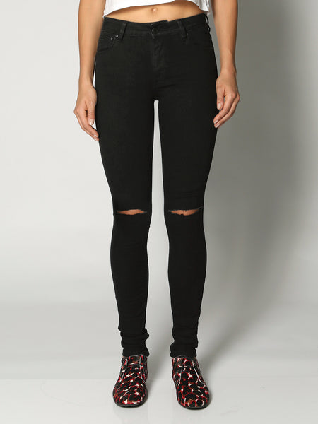 Res Denim Kitty Double Slash - Back In Black